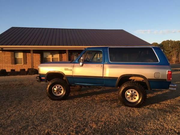 1991 Dodge Ramcharger 4x4 For Sale in Jonesboro AR