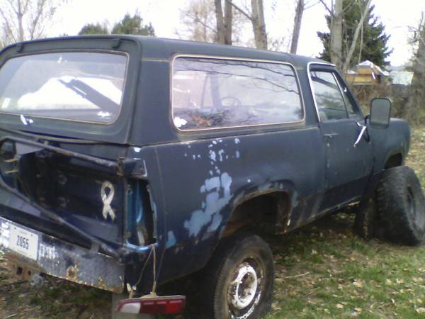 1976 Dodge Ramcharger For Sale in Boise ID