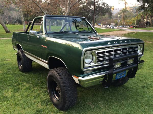 The Ram Boise >> 1976 Dodge Ramcharger For Sale