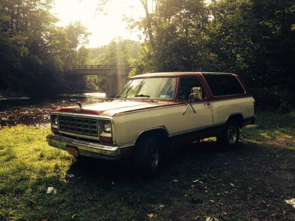1983 dodge ramcharger for sale in johnstown ny. Black Bedroom Furniture Sets. Home Design Ideas