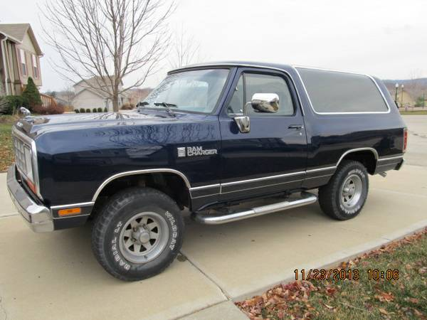 1985 dodge ramcharger for sale in fayetteville nc. Black Bedroom Furniture Sets. Home Design Ideas