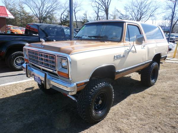 1985 dodge ramcharger for sale in mchenry il. Black Bedroom Furniture Sets. Home Design Ideas