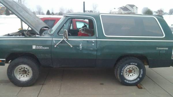 1985 4WD Dodge Ramcharger For Sale in Ofallon MO