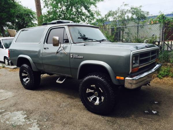 Craigslist Royal Palm Beach: 1986 Dodge Ramcharger For Sale In West Palm Beach FL