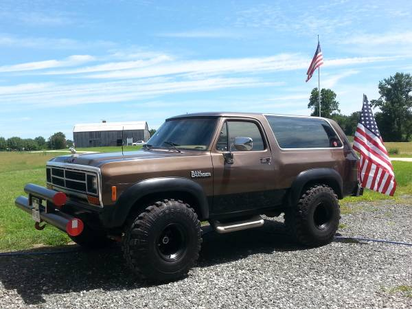 1988 4WD Dodge Ramcharger For Sale in Southern MD