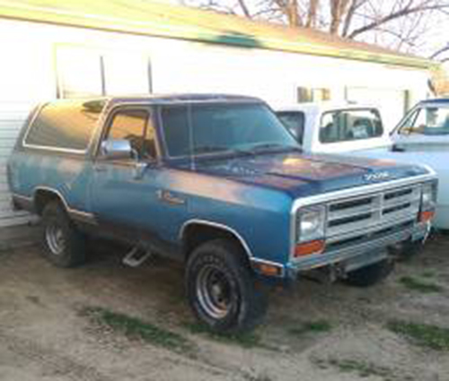 1990 4WD Dodge Ramcharger For Sale in Twin Falls ID
