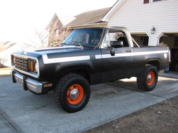 1978 4WD Dodge Ramcharger For Sale in Northwest GA