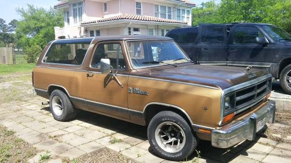 1987 RWD Dodge Ramcharger For Sale in Beaumont TX