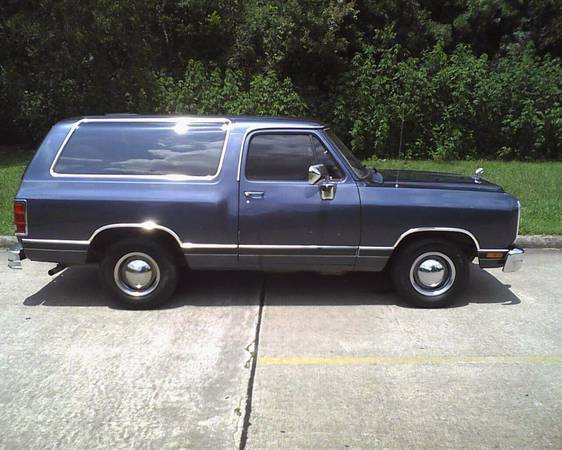 1988 Dodge Ramcharger For Sale in Sugar Land TX