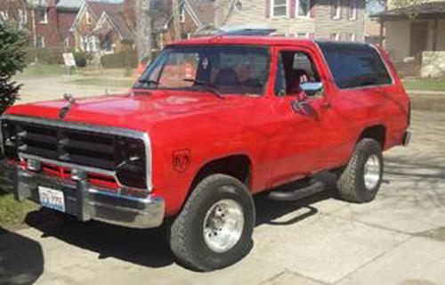 Craigslist Mn Espanol >> 1989 Dodge Ramcharger For Sale in Aurora IL