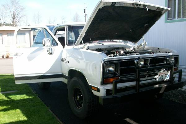 1989 4WD Dodge Ramcharger For Sale in Puyallup WA
