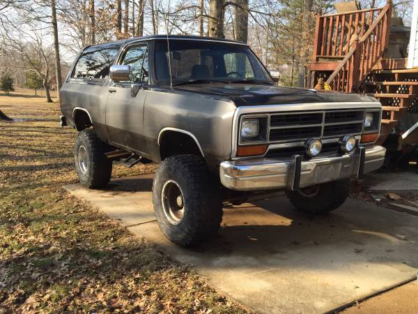 1990 dodge ramcharger for sale in baltimore md. Black Bedroom Furniture Sets. Home Design Ideas