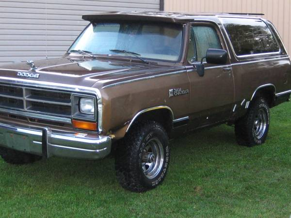 1986 Dodge Ramcharger For Sale in Patriot IN