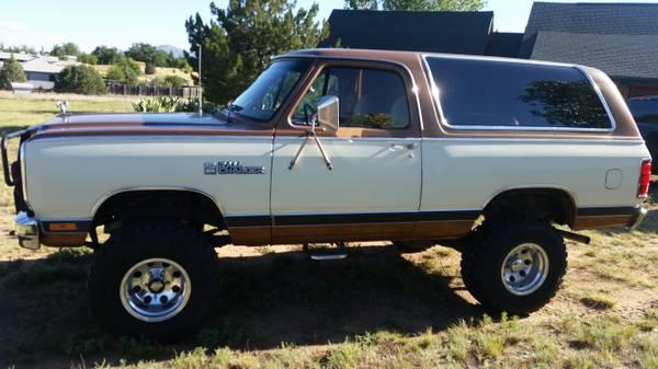 1985 Dodge Ramcharger V8 Auto For Sale in Prescott AZ