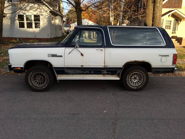 1983 dodge ramcharger 318 v8 auto for sale in st cloud mn - Craigslist farm and garden minneapolis ...
