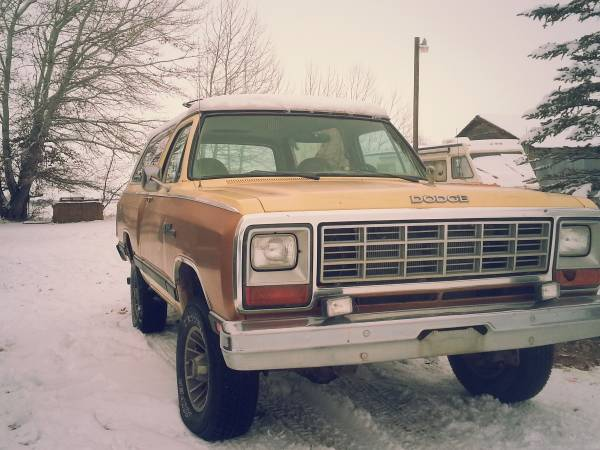 1985 Dodge Ramcharger 316 V8 For Sale in Menan, ID