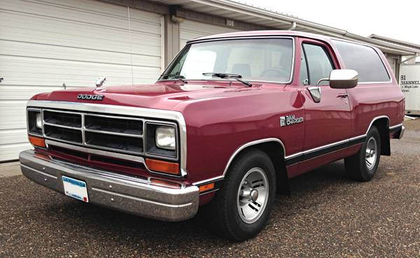 1989 Dodge Ramcharger 360 V8 For Sale In Minneapolis, MN
