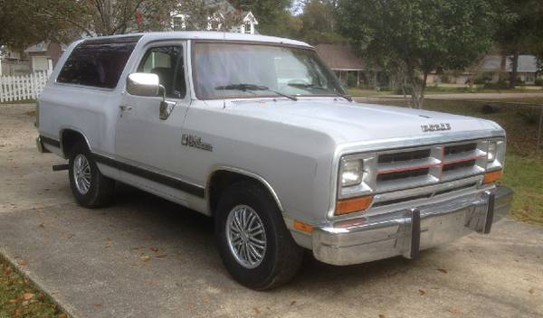 1990 Dodge Ramcharger 318 V8 For Sale in Greenwell Springs, LA
