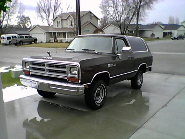 1990 dodge ramcharger automatic for sale in nampa id. Black Bedroom Furniture Sets. Home Design Ideas