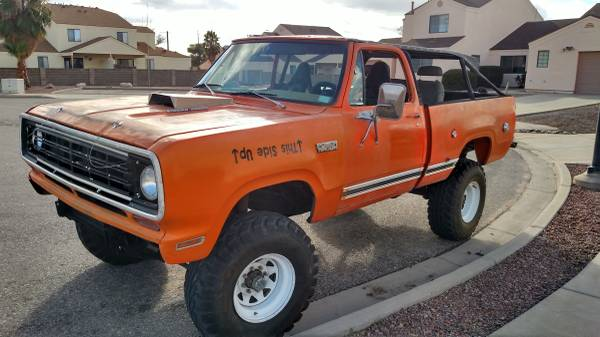 1978 Dodge Ramcharger 5.9L V8 Auto For Sale in Tucson, AZ