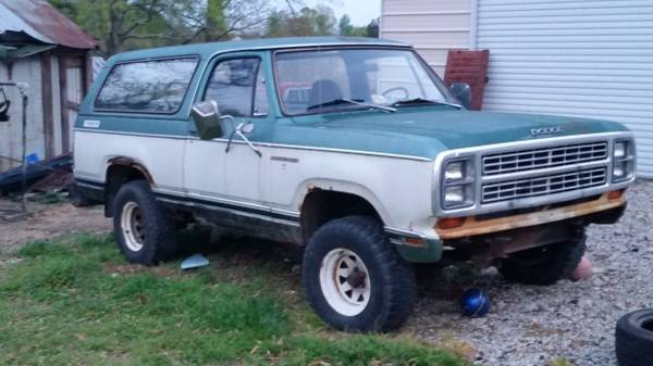 1979 Dodge Ramcharger 360 V8 Auto For Sale In Elon Nc