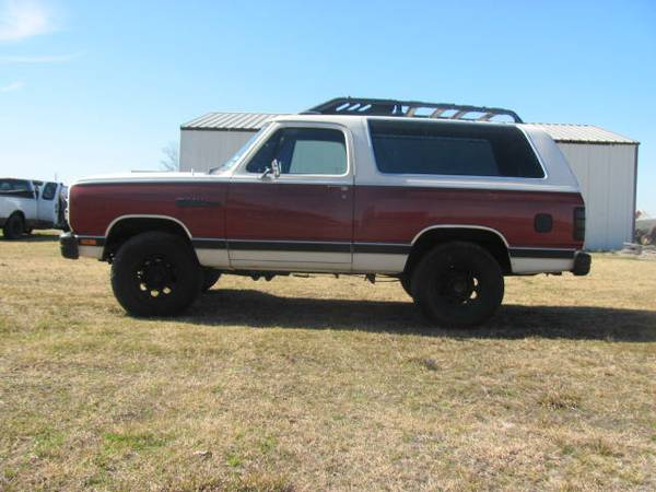 1987 Dodge Ramcharger V8 Auto For Sale in Dallas, TX