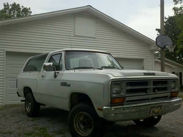 1988 Dodge Ramcharger V8 Auto For Sale In Tri-Cities, TN