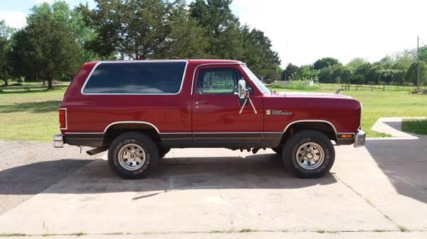1989 Dodge Ramcharger 318 V8 Auto For Sale in Stillwater, OK
