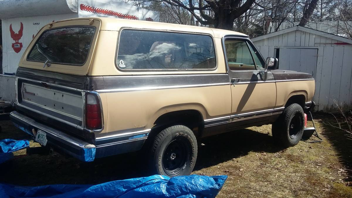 Craigslist Keene Nh >> 1979 Dodge Ramcharger 360 V8 Auto For Sale In Keene Nh
