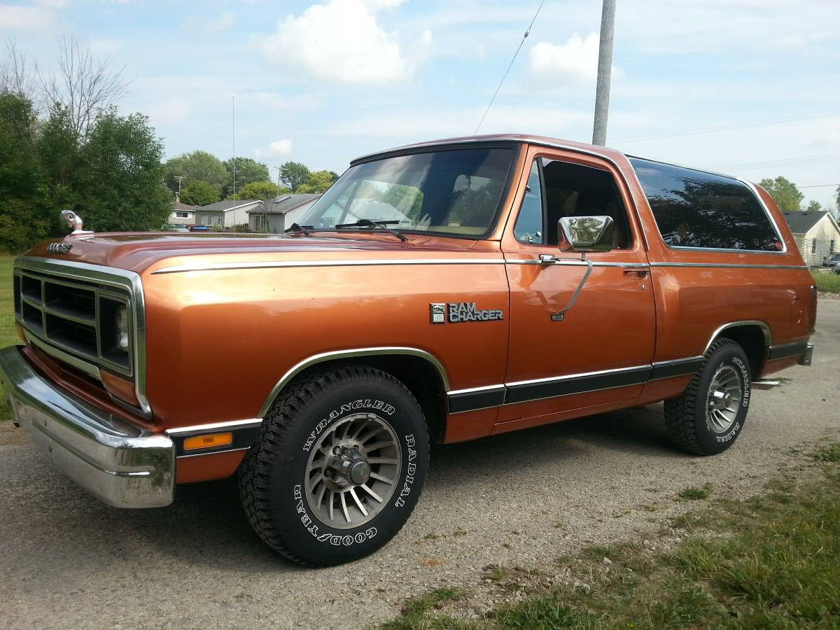 1987 Dodge Ramcharger 318 V8 Auto For Sale In Port Huron Mi
