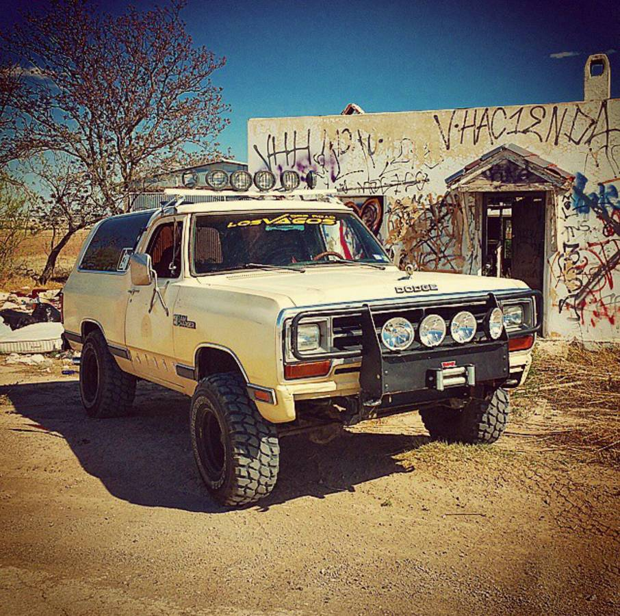 1986 Dodge Ramcharger 360 Auto For Sale In East Texas