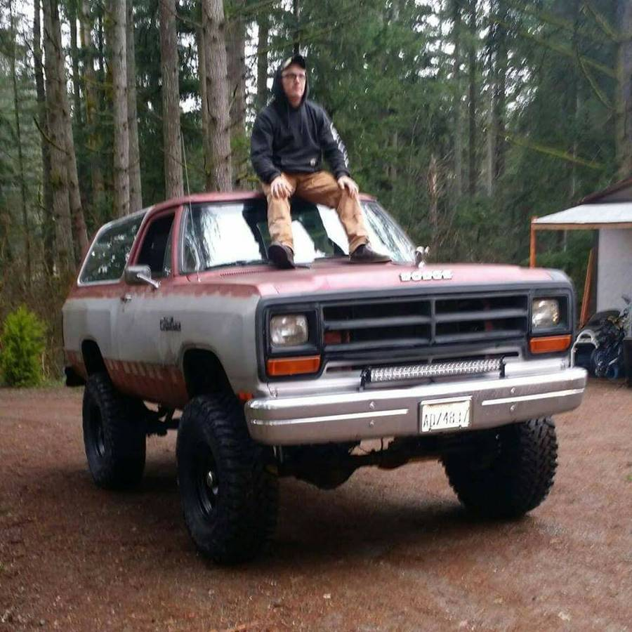 Seattle Dodge: 1988 Dodge Ramcharger 318 V8 Auto For Sale In Washington, WA