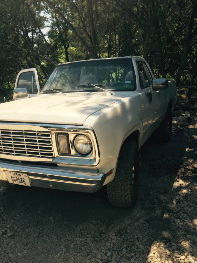 1977 Dodge Ramcharger 440 V8 Automatic For Sale in Cedar ...