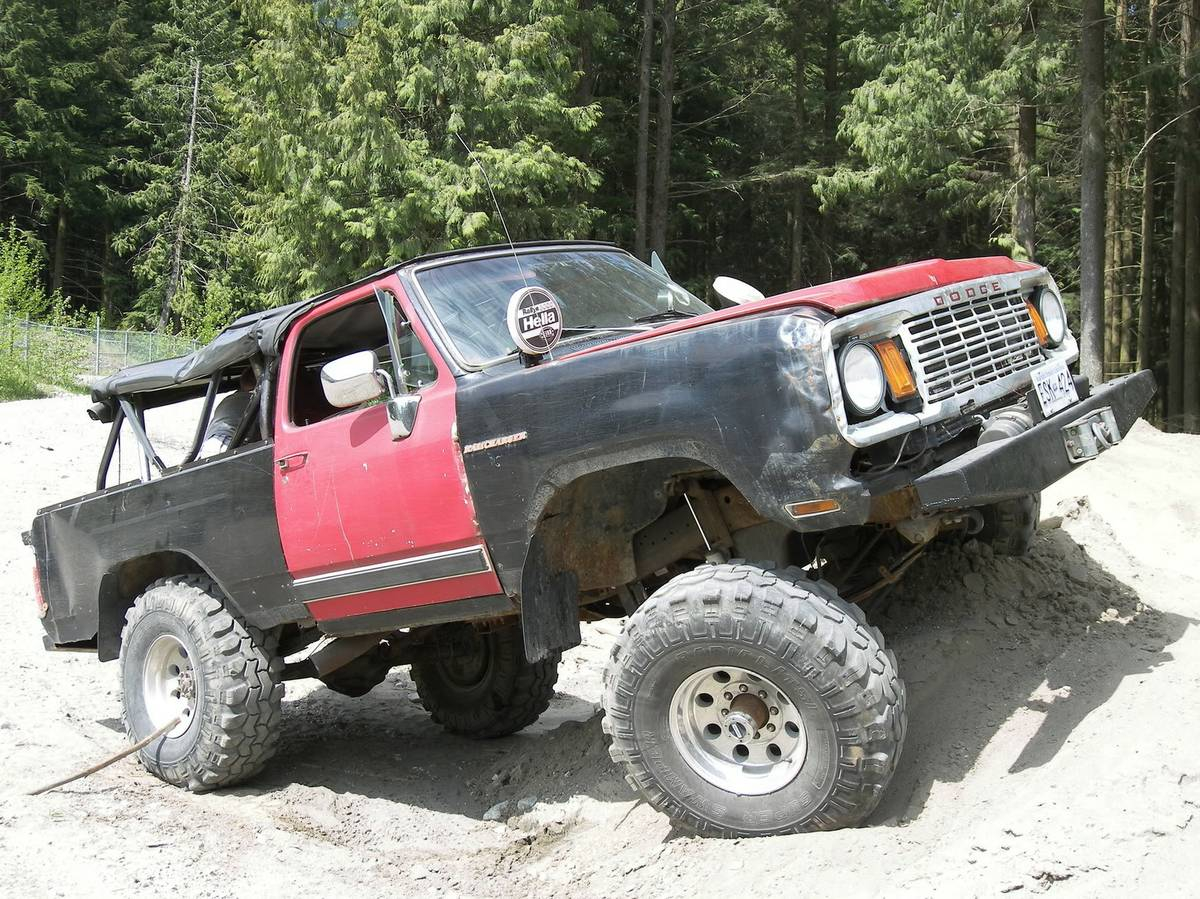1978 Dodge Ramcharger w/ 96 Cummins 5spd For Sale in ...