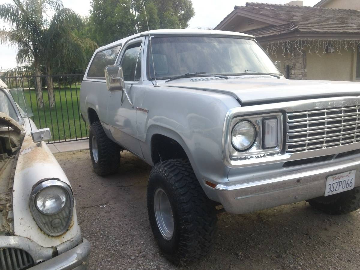 1974 Ramcharger For Sale Craigslist >> 1978 Dodge Ramcharger 4x4 318 Automatic For Sale in Imperial, CA
