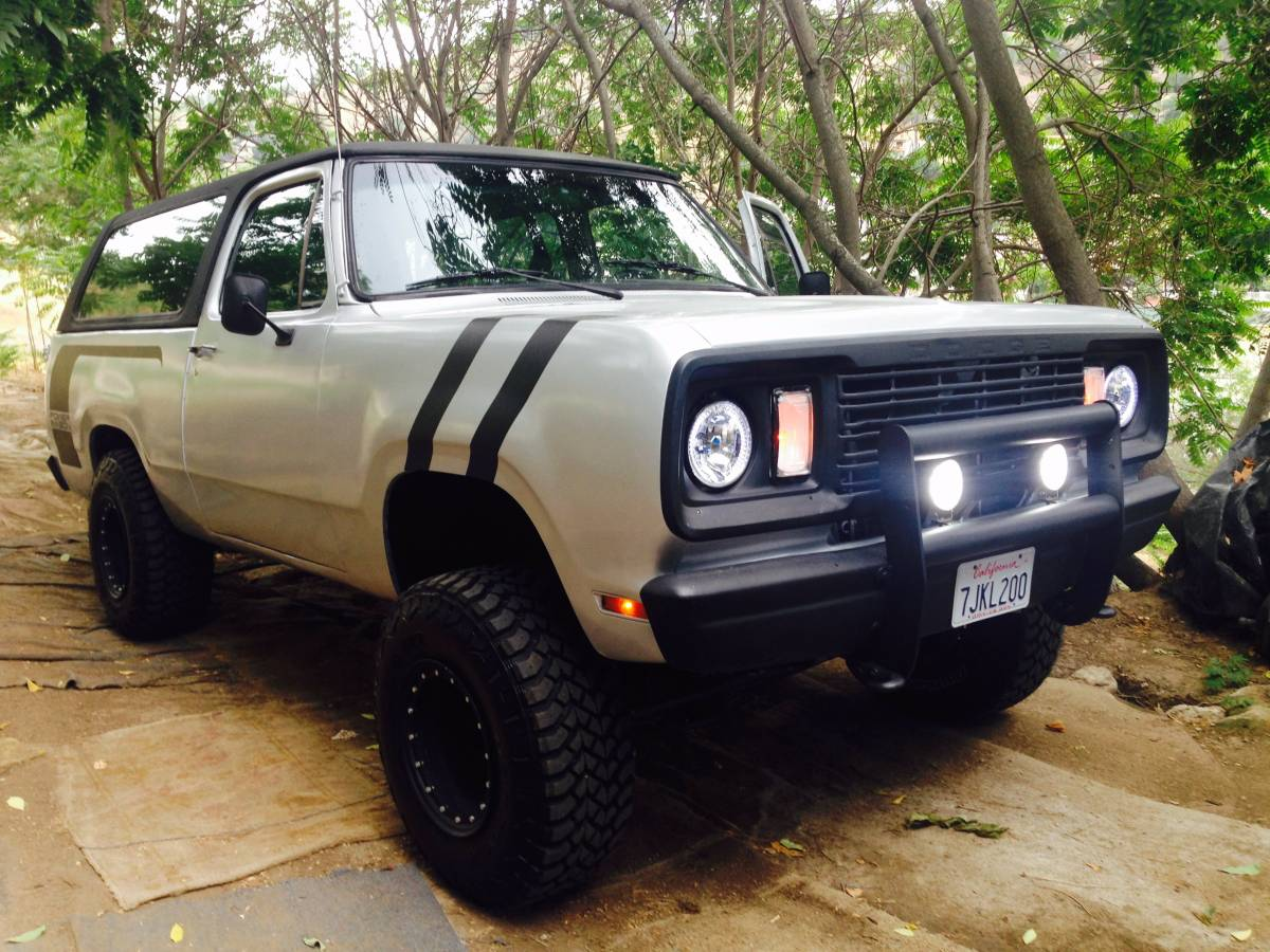 1978 Dodge Ramcharger 360 V8 Automatic For Sale in Los ...
