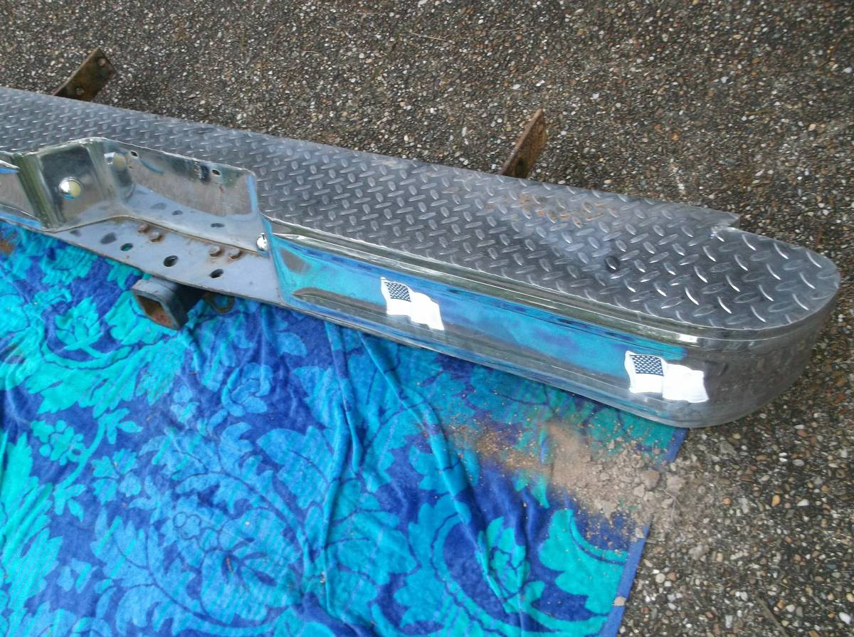 1984 Rear Chrome Ramcharger Bumper For Sale Hot Springs ...