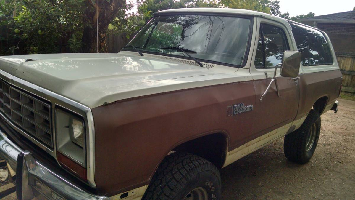 1984 Dodge Ramcharger 4x4 360 V8 Automatic For Sale in ...