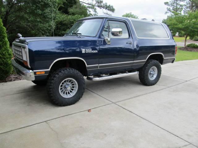 Craigslist Fayetteville Nc For Sale >> 1985 Dodge Ramcharger 4x4 360 V8 Manual For Sale in Fayetteville, NC