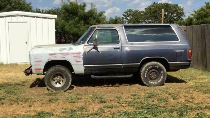1985 Dodge Ramcharger 360 Automatic For Sale in Odessa, TX
