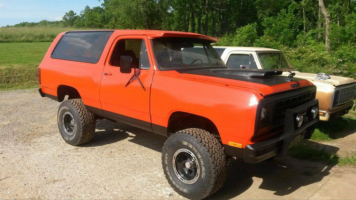 1985 Dodge Ramcharger 4x4 360 V8 Manual For Sale in ...