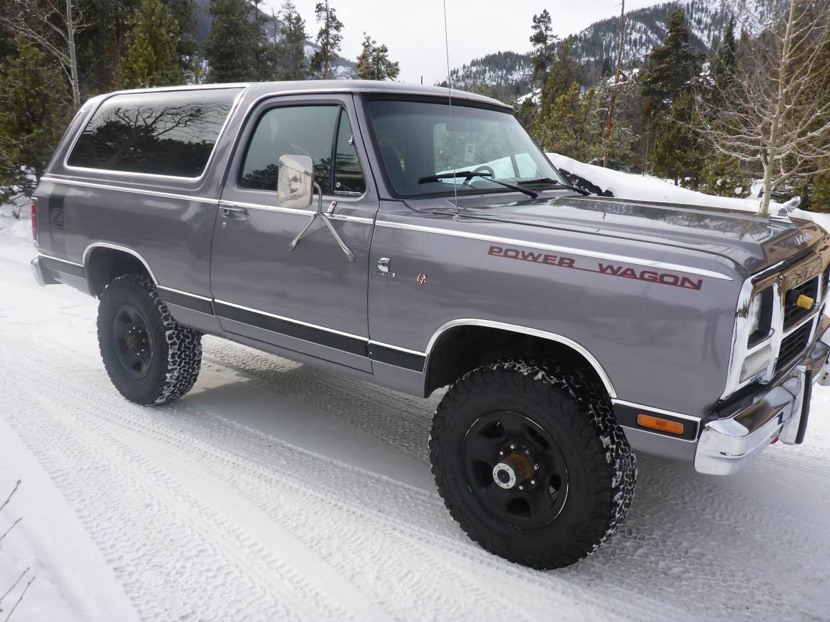 1985 Dodge Ramcharger 4x4 Automatic For Sale in Vail, CO