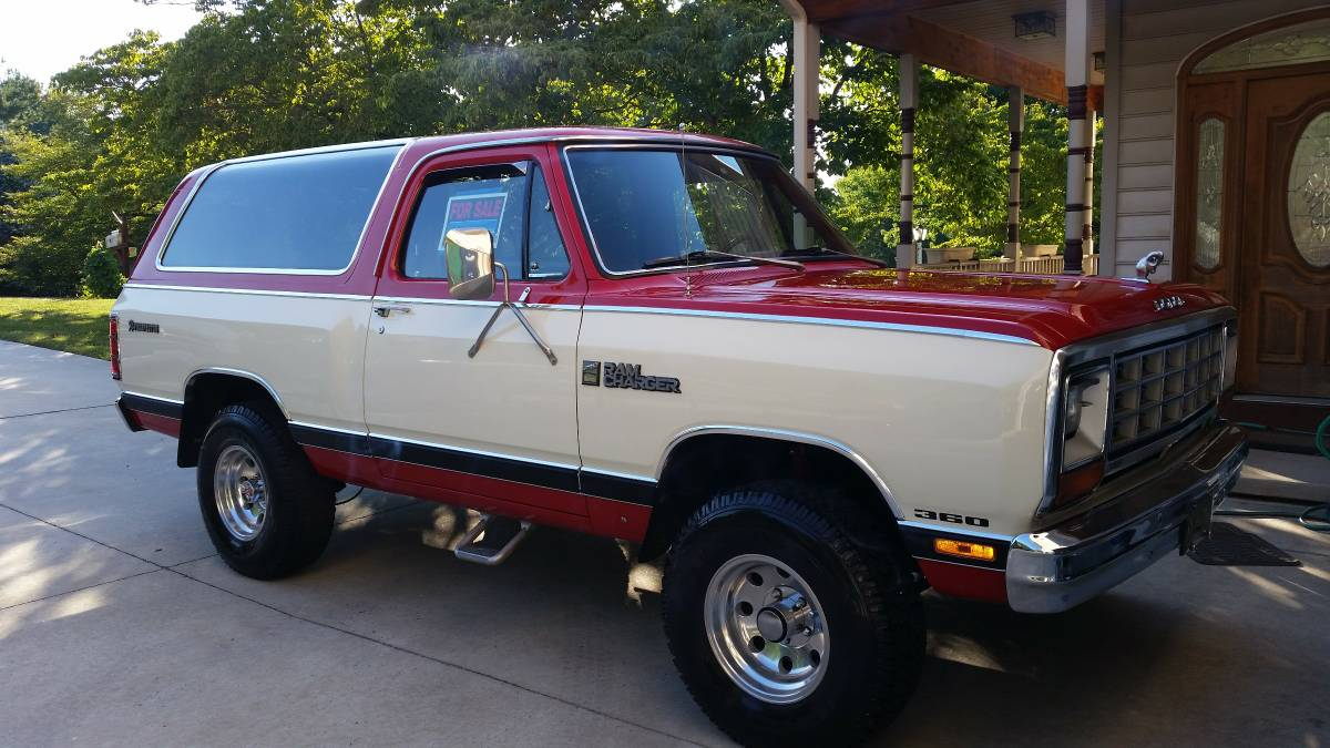 1985 Dodge Ramcharger 5 9l 360 V8 Auto For Sale In