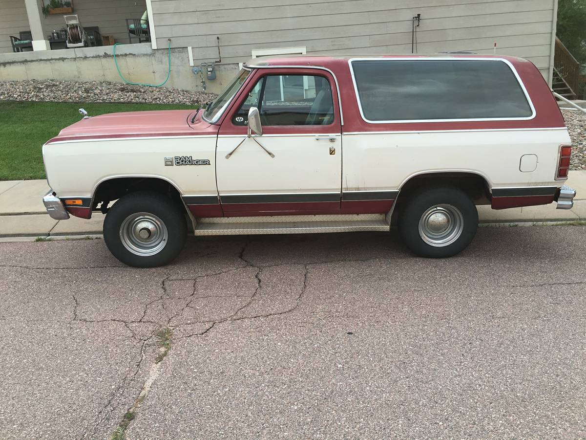 1987 Dodge Ramcharger 318 V8 Automatic For Sale in ...