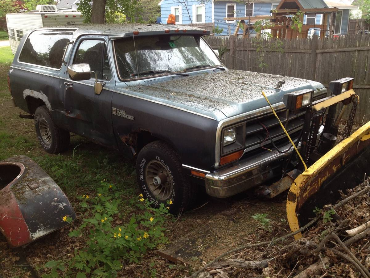 1988 Dodge Ramcharger Automatic For Sale In Haverhill, MA