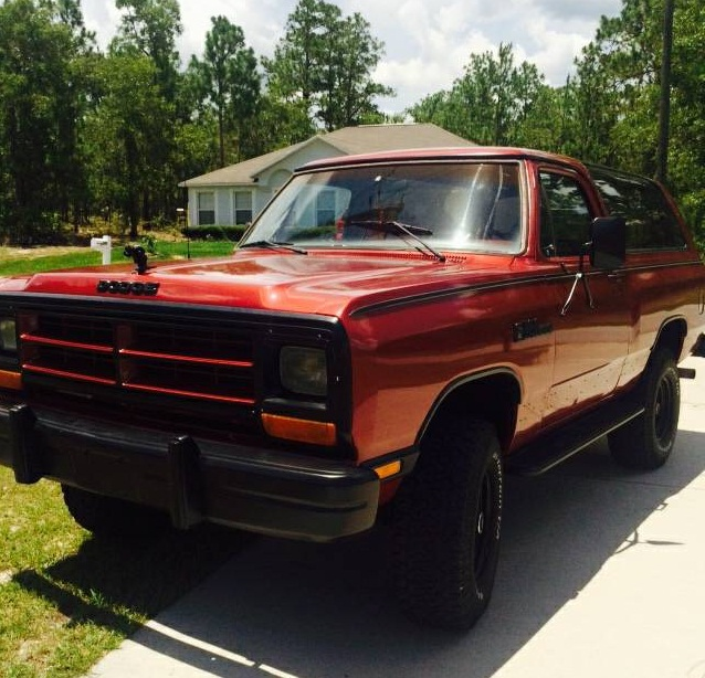 1987 Dodge Ramcharger 316 V8 Automatic 4x4 For Sale In