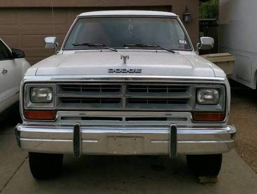 1989 Dodge Ramcharger 4X4 For Sale In Glendale, AZ