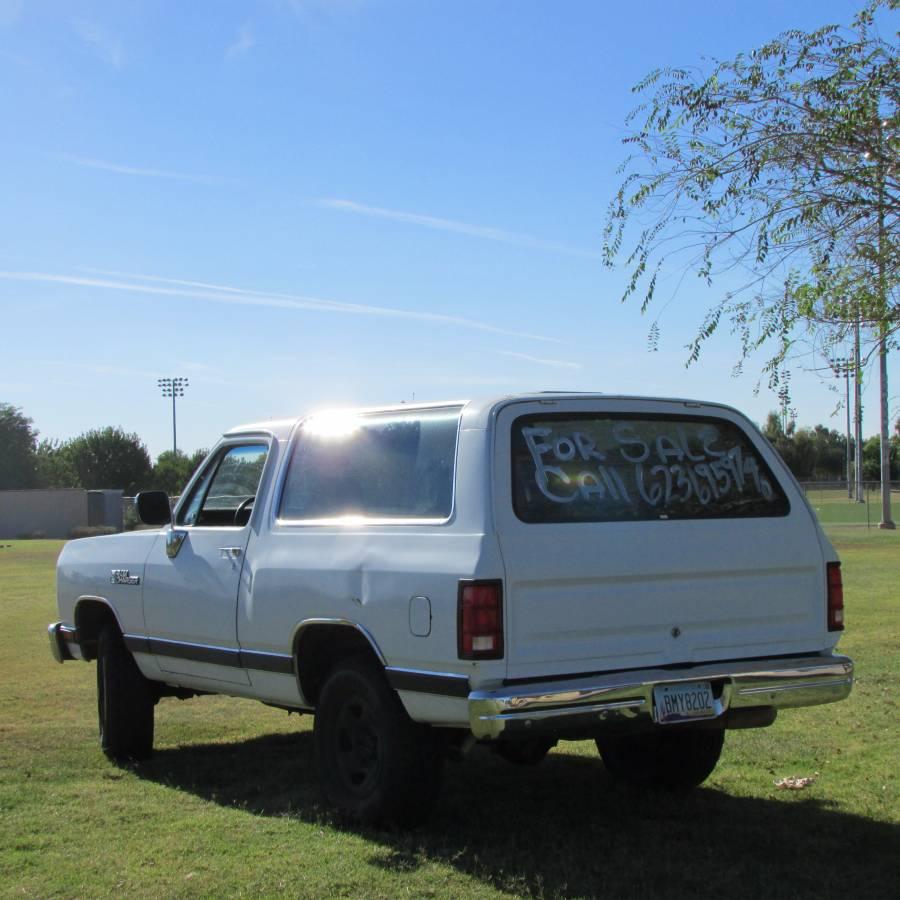 1990 Dodge Ramcharger 4X4 318CI For Sale In Phoenix, AZ