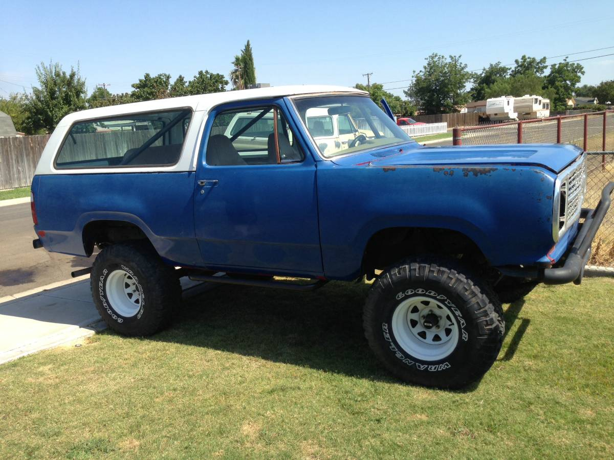 Trucks Only Mesa Az >> 1974 Dodge Ramcharger Smog Exempt 4X4 For Sale in Bakersfield, CA