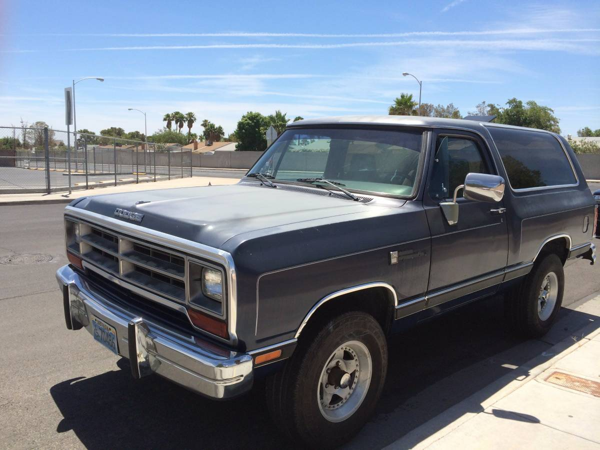 1974 Ramcharger For Sale Craigslist >> 1990 Dodge Ramcharger V8 4/4 Automatic For Sale in Las Vegas, NV